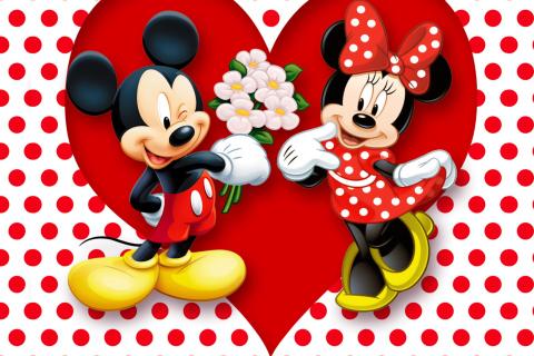 Mickey And Minnie Mouse para LG E400 Optimus L3