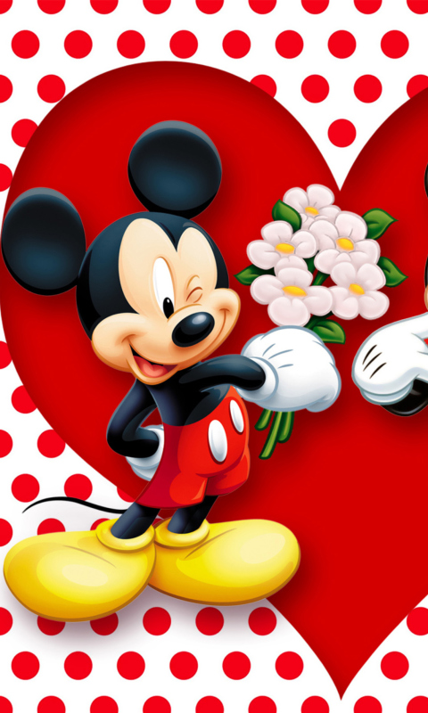 Mickey And Minnie Mouse per Nokia Lumia 800