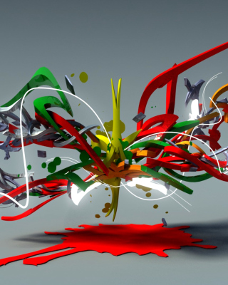 Free Graffiti 3D Picture for Nokia C2-03