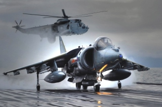 Free British Aerospace Harrier GR7 Picture for Android, iPhone and iPad