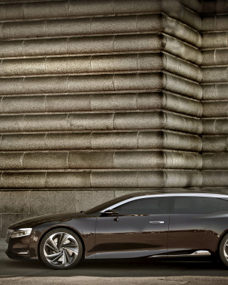 Citroen Numero 9 Background for iPhone 4S