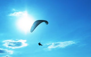 Parachute Picture for Android, iPhone and iPad