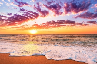 Unbelievable sunset - Fondos de pantalla gratis