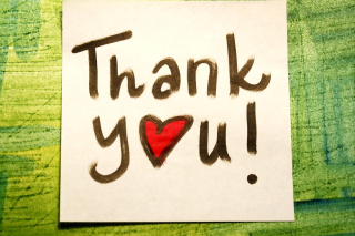 Thank You Picture for Desktop 1280x720 HDTV