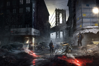 Kostenloses Tom Clancy's The Division Wallpaper für Android, iPhone und iPad