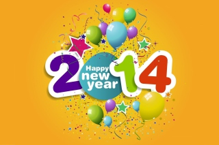 Happy New Year 2014 sfondi gratuiti per cellulari Android, iPhone, iPad e desktop