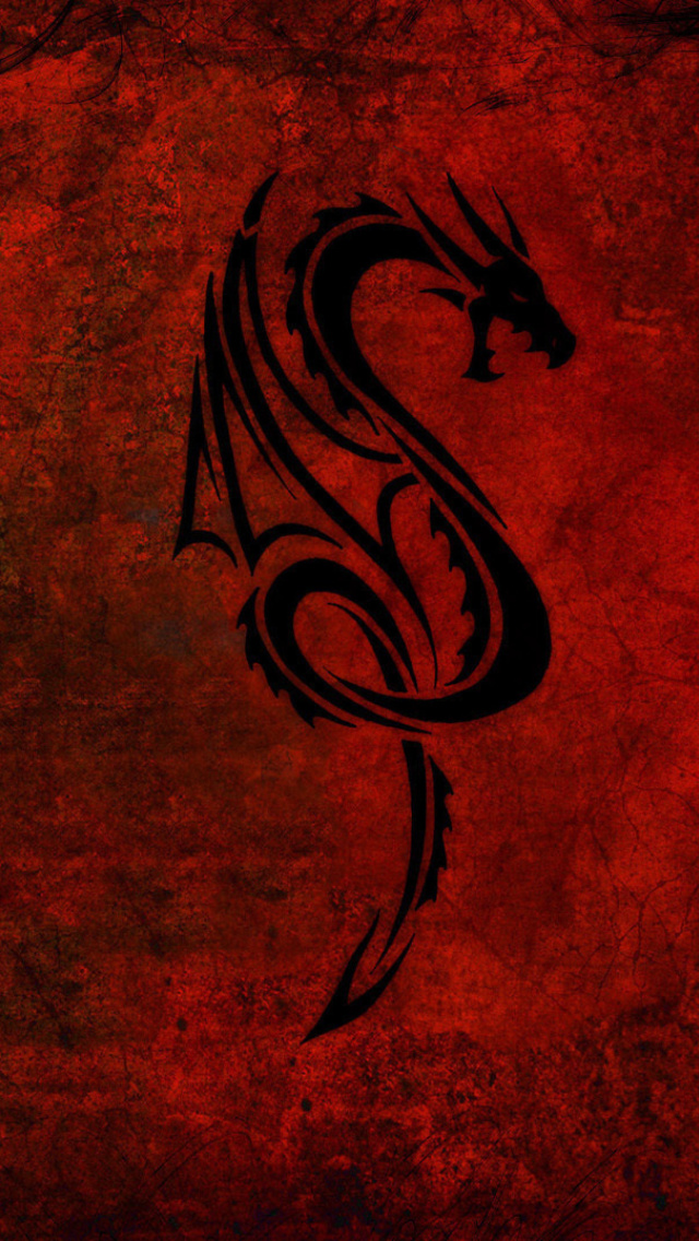 Screenshot №1 pro téma Tribal Dragon 640x1136