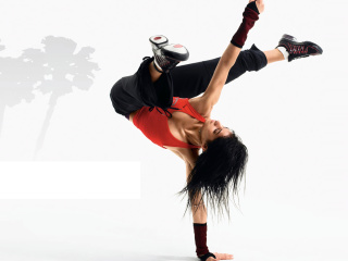 Sfondi Hip Hop Girl Dance Just do It 320x240