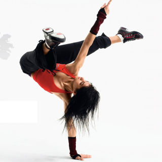 Hip Hop Girl Dance Just do It - Fondos de pantalla gratis para iPad 2