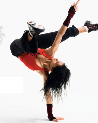 Kostenloses Hip Hop Girl Dance Just do It Wallpaper für Nokia C1-01