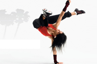 Hip Hop Girl Dance Just do It - Obrázkek zdarma pro 1366x768