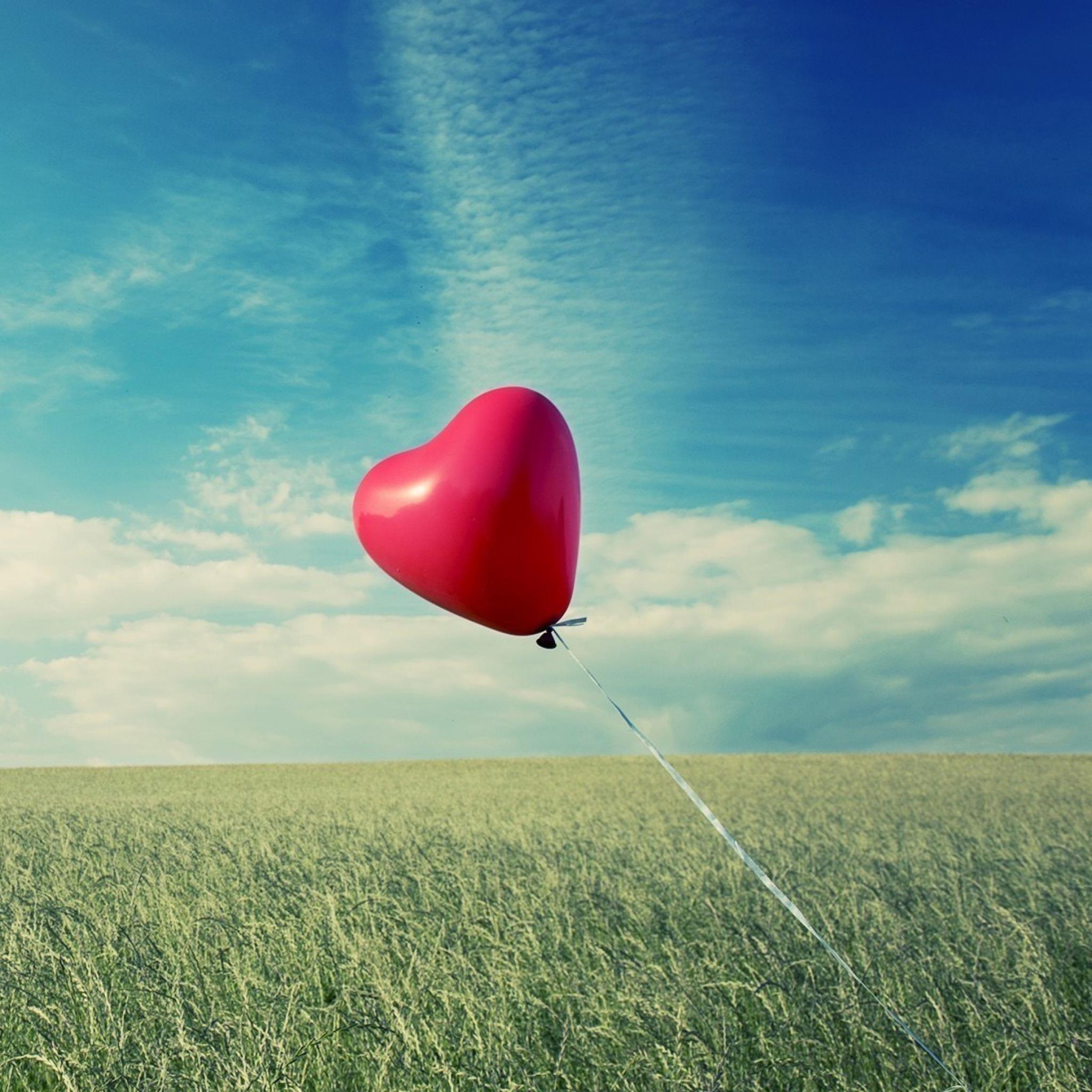 сердце шары свечение силуэт загрузить