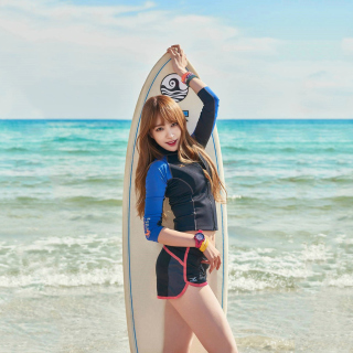 Korean Surfer Girl - Fondos de pantalla gratis para iPad Air