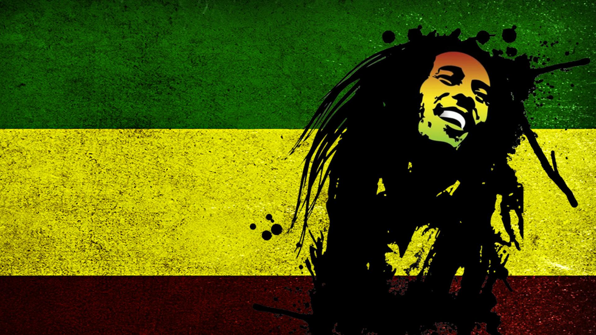 Bob Marley Rasta Reggae Culture for Desktop 1920x1080 Full HD