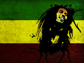 Bob Marley Rasta Reggae Culture para Nokia X2-01