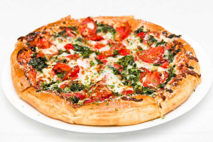 Screenshot №1 pro téma Pizza with spinach