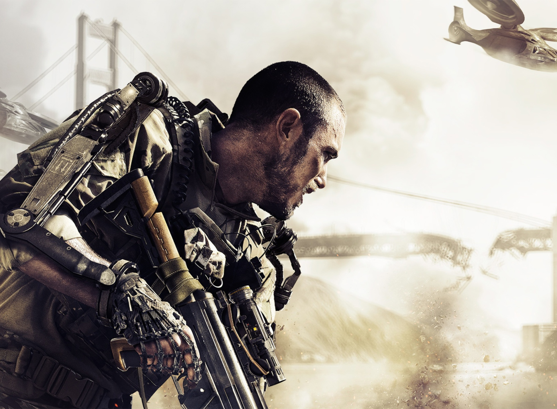 Das Call Of Duty Advanced Warfare Wallpaper 1920x1408