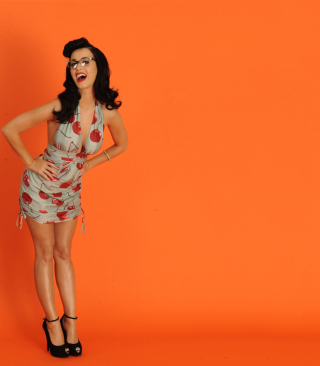 Katy Perry Wallpaper for Nokia Asha 306