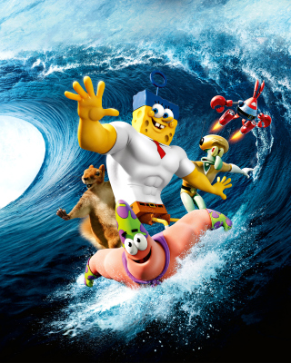 The SpongeBob Movie Sponge Out of Water - Obrázkek zdarma pro 640x1136