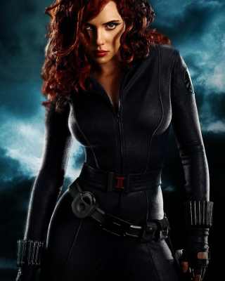Free Black Widow Picture for 240x320