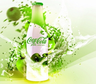 Coca Cola Apple Flavor Picture for 208x208