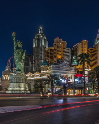 Las Vegas Luxury Hotel Background for iPhone 5