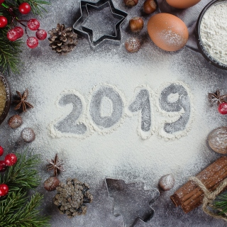 New Year Decor 2019 - Fondos de pantalla gratis para iPad 2