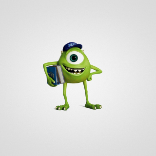Monsters University, Mike Wazowski - Obrázkek zdarma pro iPad mini 2