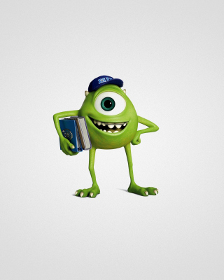 Monsters University, Mike Wazowski Wallpaper for iPhone 6 Plus
