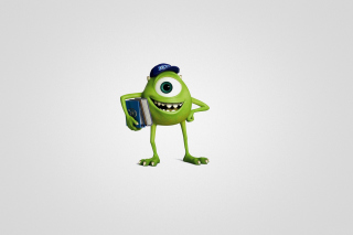 Monsters University, Mike Wazowski sfondi gratuiti per Samsung Galaxy S4