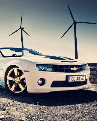 Chevrolet Camaro 2012 sfondi gratuiti per iPhone 6 Plus