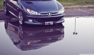 Peugeot Reflection Wallpaper for Android, iPhone and iPad
