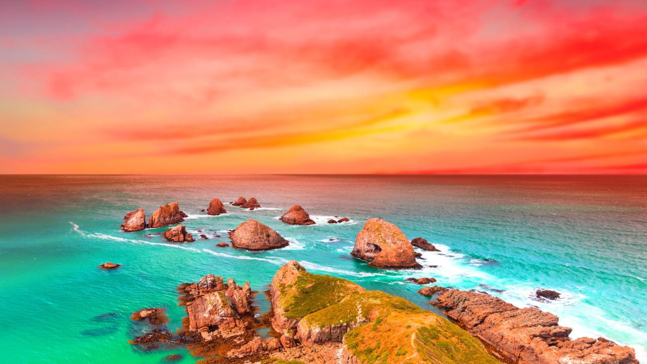 Beautiful Sea Scenery