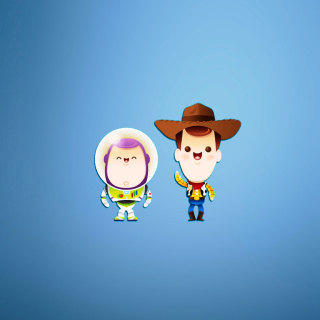 Buzz and Woody in Toy Story sfondi gratuiti per iPad Air