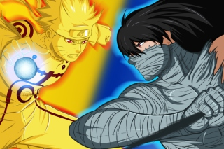 Free Naruto vs Ichigo Picture for Android, iPhone and iPad