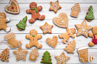 Gingerbread Museum Wallpaper for Android, iPhone and iPad