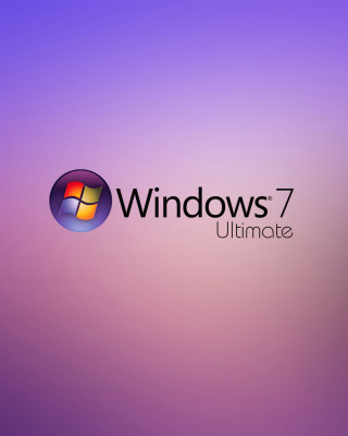 Windows 7 Ultimate Wallpaper for 480x800
