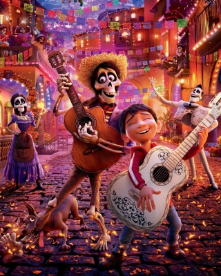 Coco 2017 Film Background for Nokia Asha 306