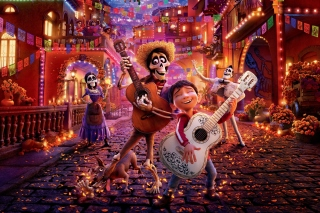 Coco 2017 Film Background for Samsung P1000 Galaxy Tab