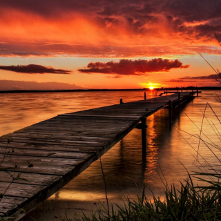 Stunning Sunset in Sweden sfondi gratuiti per iPad 3