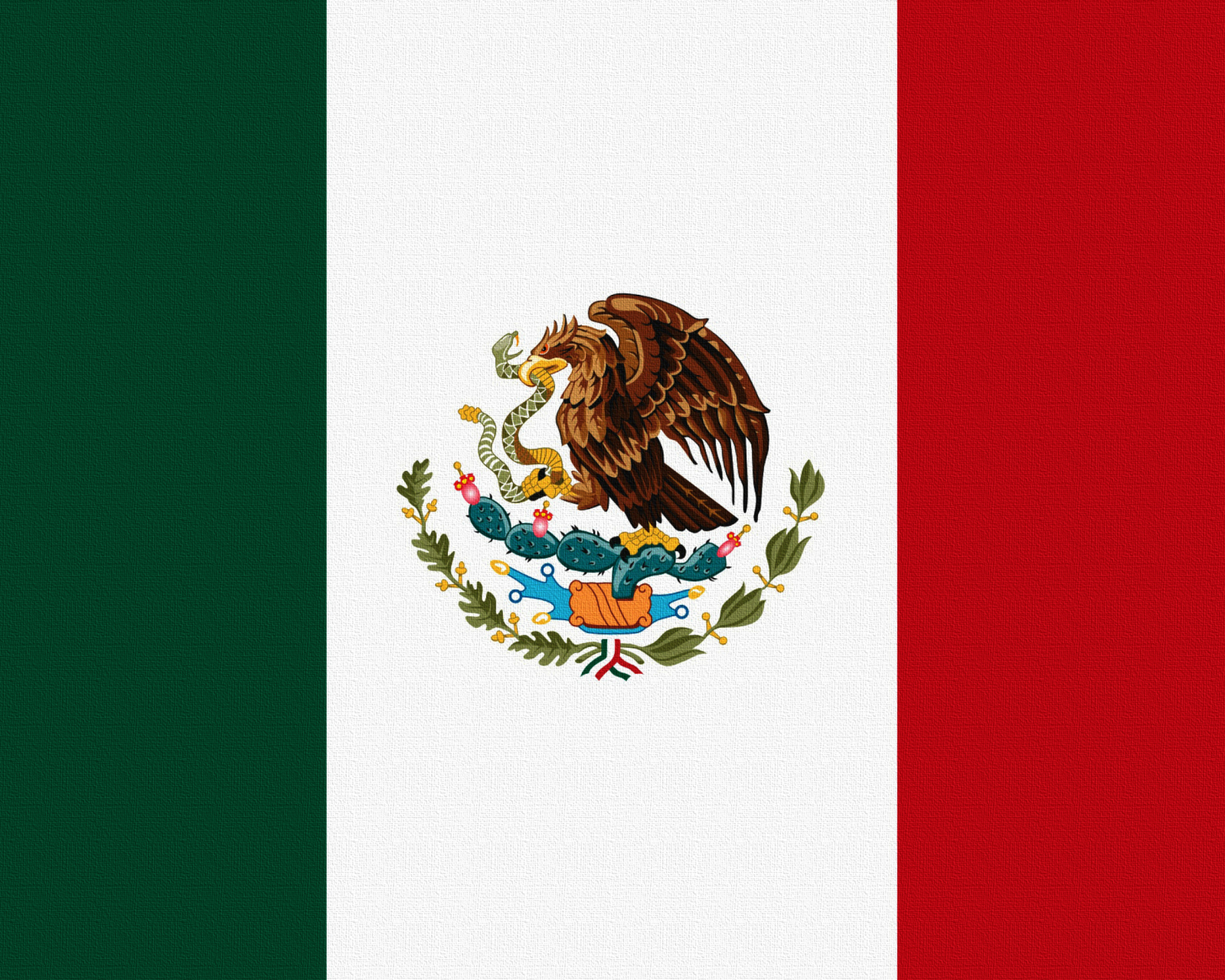 Screenshot №1 pro téma Flag Of Mexico 1600x1280