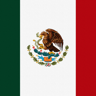 Free Flag Of Mexico Picture for iPad Air