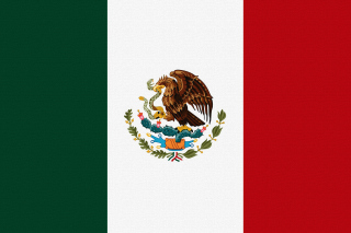 Flag Of Mexico Background for 1400x1050