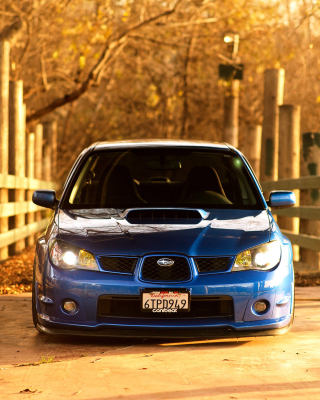 Free Subaru Impreza WRX STI Picture for Nokia C-5 5MP