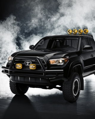 Toyota Tacoma Black Wallpaper for 480x800