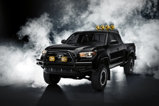 Toyota Tacoma Black Wallpaper for Android, iPhone and iPad
