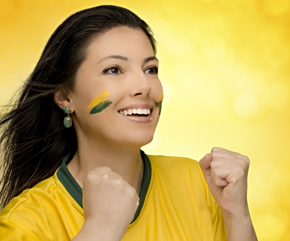 Screenshot №1 pro téma Brazil FIFA Football Cheerleader 960x800