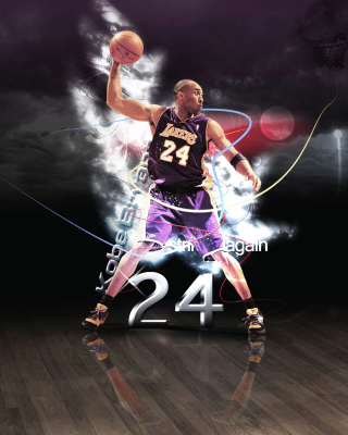 Kobe Bryant Wallpaper for Nokia C1-01