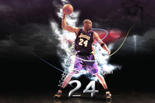 Kobe Bryant Background for Android, iPhone and iPad
