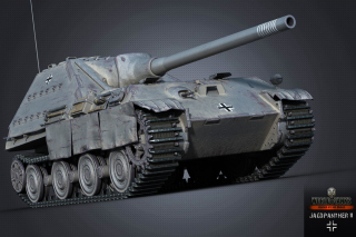 Free World of Tanks Jagdpanther II Picture for Android, iPhone and iPad